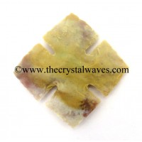 Agate Square Notched Arrowhead