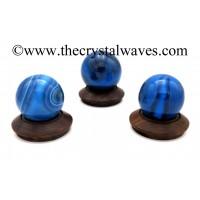 Blue Chalcedony / Onyx Ball / Sphere