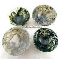 "3"" Moss Agate Bowl"