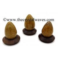 Mariyam / Calligraphy Stone / Sea Fossil Jasper Eggs