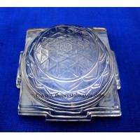 Wholesale Crystal Quartz / Sfatik Flat Shreeyantra