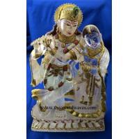 Exclusive Crystal Quartz / Sfatik Hand Carved  Radha Ji & Kishan Ji