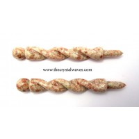 Sunstone Twisted Healing Stick