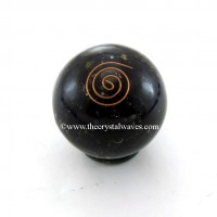 Black Tourmaline Orgone Ball / Sphere