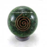 Green Aventurine Orgone Ball / Sphere