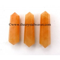 "Red Aventurine 1.50 - 2"" Double Terminated Pencil"