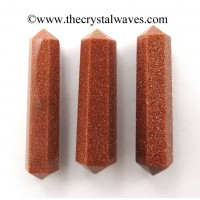 "Red Goldstone 3"" + Double Terminated Pencil"