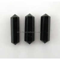 "Black Obsidian 3"" + Double Terminated Pencil"