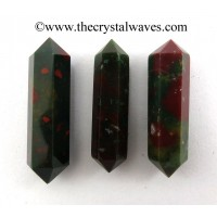 "Blood Agate 1.50 - 2"" Double Terminated Pencil"