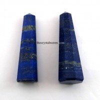 Lapis Lazuli 1.5 to 2 Inch Pencil Pencil 6 to 8 Facets