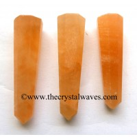Orange Selenite 1.5 to 2 Inch Pencil 6 to 8 Facets