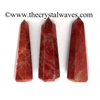 Red Jasper 1.5 to 2 Inch Pencil 6 to 8 Facets