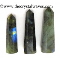 Labradorite 1.5 to 2 Inch Pencil 6 to 8 Facets
