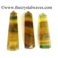 Fluorite 1.5 to 2 Inch Pencil 6 to 8 Facets