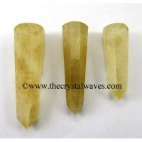 Citrine 1.5 to 2 Inch Pencil 6 to 8 Facets