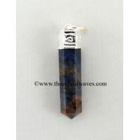 Blue Aventurine Capped Pencil Pendant