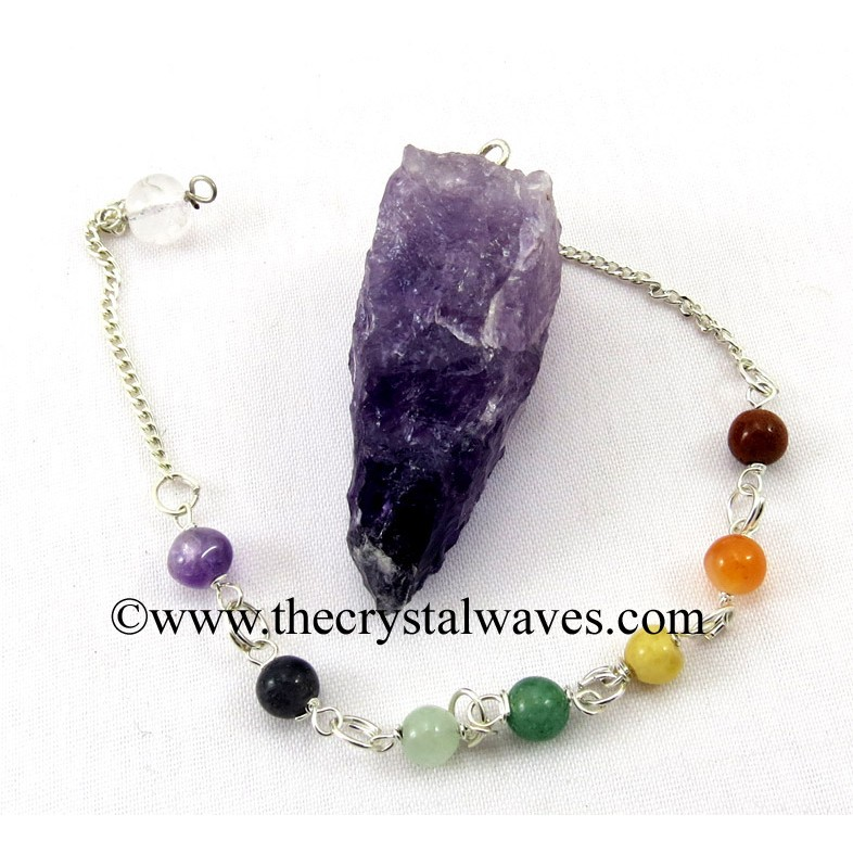 Pendulums With Chakra Beads Chain