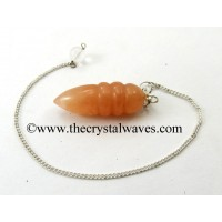 Peach Moonstone Egyptian Style Pendulum