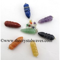 Egyptian Style Pendulum With Chakra Chain Chakra Set