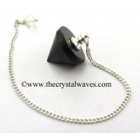 Black Tourmaline Conical Pendulum