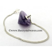Amethyst Conical Pendulum