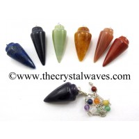 Smooth Pendulum With Chakra Chain Chakra Set