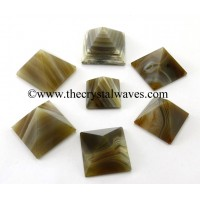 Lace Agate 23 - 28 mm pyramid