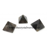 Grey Khyaldar Agate 23 - 28 mm pyramid