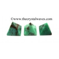 Chrysoprase 23 - 28 mm pyramid