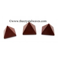 Red Jasper 23 - 28 mm pyramid