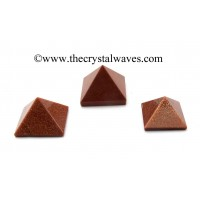 Red Glodstone 23 - 28 mm pyramid