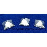 Crystal Quartz A Grade 23 - 28 mm pyramid