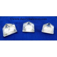 Crystal Quartz B Grade 23 - 28 mm pyramid