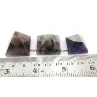 Amethyst 15 - 25 mm wholesale pyramid