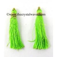 Lime Green Color Tassels