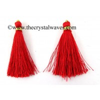 Red Color Tassels