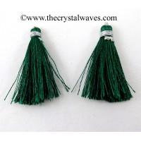 Green Color Tassels