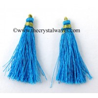 Turquoise Color Tassels