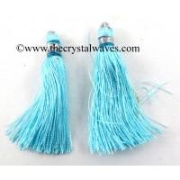 Sky Blue Color Tassels