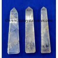 Crystal Quartz 2 - 3 Inch Tower