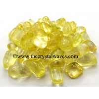 Sunshine Aura Dyed Crystal Quartz A Grade Tumbled Nuggets
