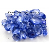 Tanzine Aura Dyed Crystal Quartz A Grade Tumbled Nuggets