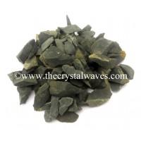 Black Agate / Jasper Raw Undrilled Chips