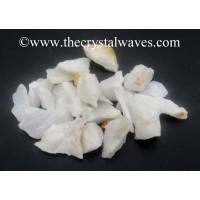 White Agate / Aventurine Raw Undrilled Chips