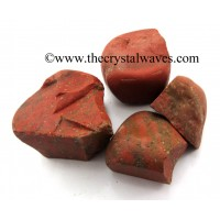 Red Jasper Raw Chunks