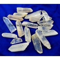 Crystal Quartz A Grade Raw Pencil Points